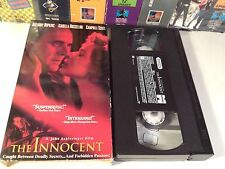 The Innocent Rare Espionage Drama VHS 1993 OOP HTF Rossellini Hopkins