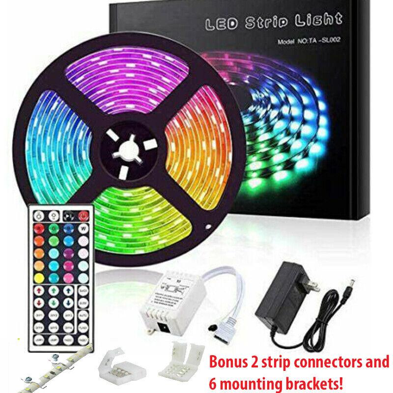 Led Strip Lights 33ft RGB Led Room Lights 5050 Led Tape Lights Color Changing