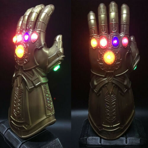 2019 Figure /& LED Light Thanos Infinity Gauntlet Marvel Legends Gloves Avengers
