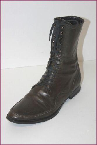 Qsdp All Pelle Lace 35 Marrone T scuro Be 5 Boots rrSgO6qxw
