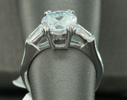 Details about  /2 CT THREE SOLITAIRE BRIDAL DIAMOND ENGAGEMENT RING 14K Solid WHITE GOLD