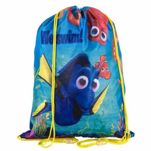 Finding Dory Gym Bag PE Shoe Swim Trainer Dance School Bag for Childrens Kids