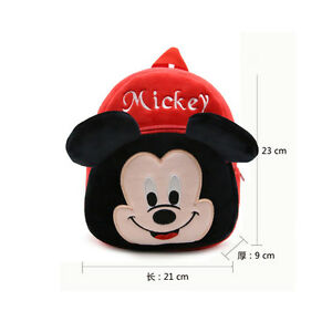 7a8cc36f195 Boys Girls Kids Nursery Toddler Mickey Mouse Small Backpacks Schoolbag Mini  Bags