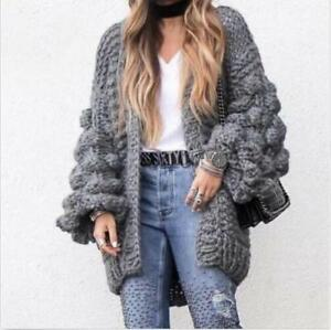 en femmes de Manteau maille veste pour tricoté AqOwgEYx