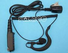 CLip Ear Headset Earpiece Mic PTT For Sepura Radio STP8040 STP8080