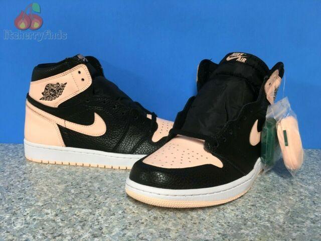 Nike Air Jordan Retro 1 High OG Mens Size 17 Crimson Tint Black Pink 555088-081