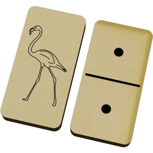 DM00012667 /'Walking Flamingo/' Domino Set /& Box