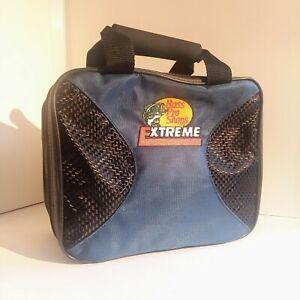 New-Vintage-Bass-Pro-Shops-Xtreme-Tackle-Bag-Lure-Binder-Multi-Pocket-Blue