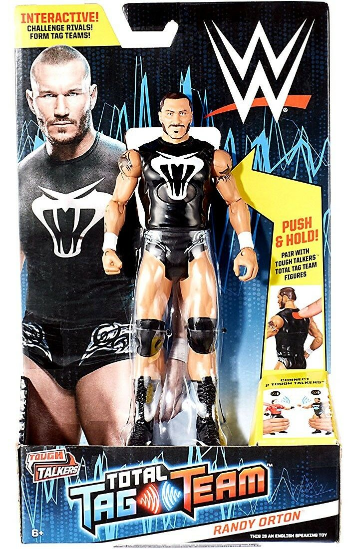 WWE Wrestling Tough Talkers Total Tag Team Randy Orton Action Figure