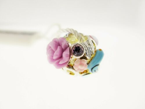 """9 Persona Sterling Silver /""""Enchanted Escape/"""" Bead Charme H13299P2"""
