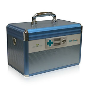 Details about Medication and Prescription Drugs Lockable Storage Box R8031  First-Aid Box