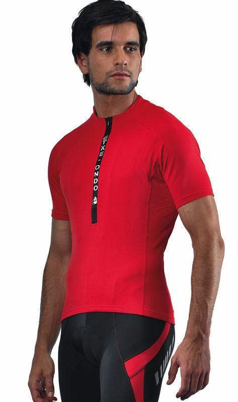 ETXEONDO Meersburg S Sleeve CYCLING Jersey ROAD Red