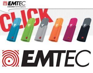 Cle-Usb-Emtec-8-Go-16-Go-32-Go-64-Go-Gb-Usb-2-0-Usb-3-0-Neuf-Blister