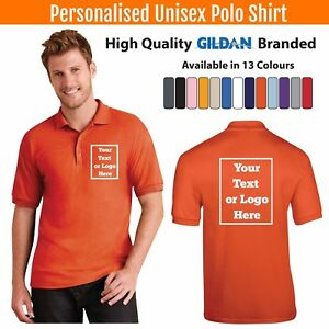 Custom-Printed-Polo-Shirt-Unisex-Personalised-Stag-Workwear-Event-Gildan-Polo