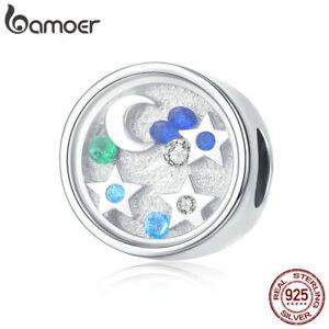 Bamoer-S925-Sterling-Silver-charms-Starry-Sky-With-Zircon-Fit-Bracelet-Jewelry