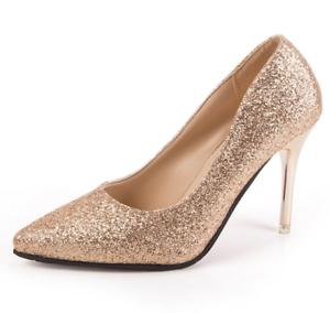 evening women high heels sequin stiletto party dress
