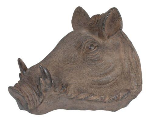 Wildschweinkopf Wanddekoration Antik-Braun Dekoration Polyresin Wildschwein