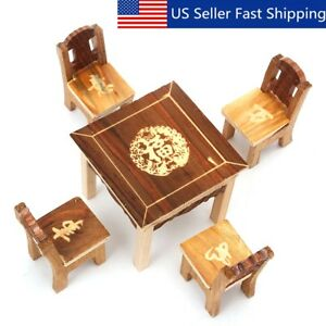 1-12-Wood-Furniture-Doll-House-Family-Christmas-Xmas-Toy-Set-for-Kids-Children