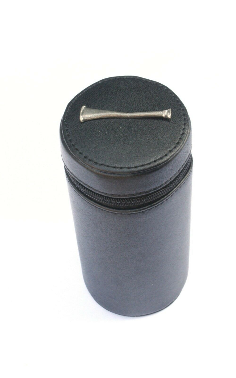 Hunting Horn Shooting Peg Position Finder Numberojo Cups 1-10 negro Leather Case