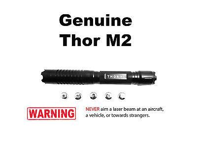 High Power Thor M2 450nm Blue Laser Pointer Burning Match