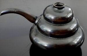 Ancienne-theiere-bronze-Chine-Antique-teapot-chinese-XIX
