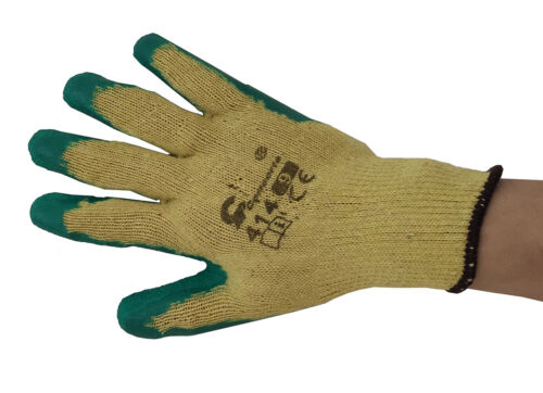 Schutzhandschue Model 414 Arbeitshandschuhe Handschuhe 12 Paar Größe M,L,XL