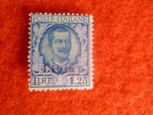 ITALY COLONIES LIBYA STAMP SCOTT 66 1.25 LIRE  MH