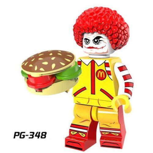 PG-348 MINI FIGURINES Ronald McDonald avec Visage de Joker