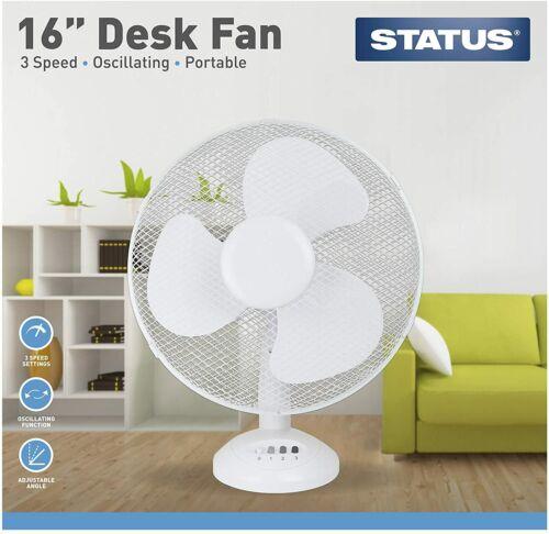 Ventilatore da tavolo elettrico oscillante Cool Air Breeze silenzioso portatile casa ufficio Cooler