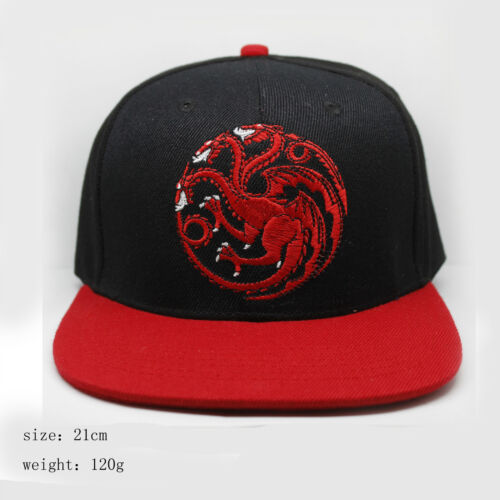 Game of Thrones Targaryen Dragon Baseball Cap A Song of Ice and Fire Casual Hat