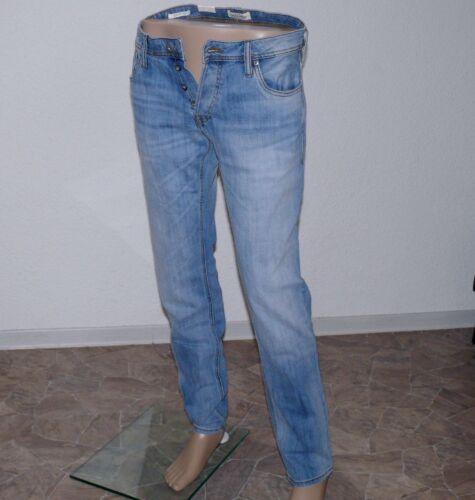 Jack /& Jones Tim Original GE 987 Herren Jeans Stretch Slim W 29 32 L 32 34 Blau