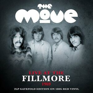 The-Move-Live-At-The-Fillmore-1969-2LP-Gatefold-On-180g-Red-Vinyl-NEW-SEALED