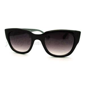 f12915866e Image is loading Womens-Sunglasses-Chic-Square-Cateye-Animal-Print-Frame
