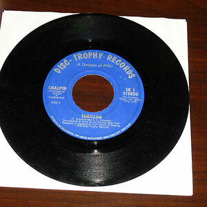 Details about RARE DISCO 45RPM RECORD - CHALPIN - DISC TROPHY RECORDS 1