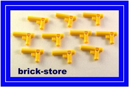 Lego Star Wars / City /Figur   10 Stück gelbe Waffen  / NEU
