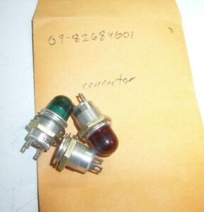 Lot of 10 New Littelfuse Red Miniature Indicator Lamp 125vac 1//3w 8mm    A2