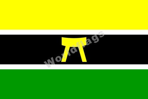 Ghana Ashanti Flag 3X2FT 5X3FT 6X4FT 8X5FT 100D Polyester Banner