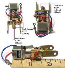 1pc TRADESHIP MN-30 1/32 Slot Car Train Toy MICRO MOTOR 3/32 Shaft 18k RPM Quali