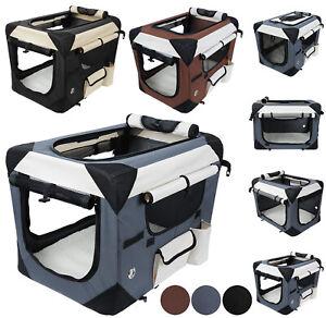 Boîte pour chien Boîte de voyage Tranportbox Cats Chiens Car Box S-xxxxl Choix de couleur Eht439
