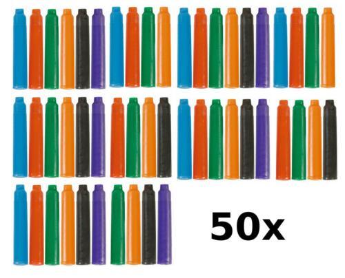 50 farbige Füllerpatronen Tintenpatronen