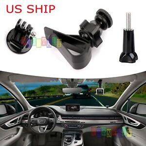 For-GoPro-Camera-Camcorder-1-4-034-Screw-Car-SunShade-Visor-Board-Clip-Mount-Holder