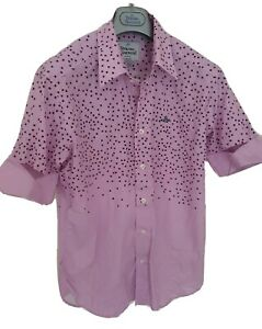 Mens-MAN-by-VIVIENNE-WESTWOOD-short-sleeve-shirt-size-48-medium-RRP-260