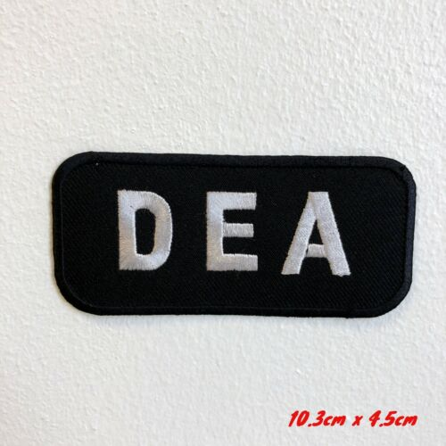 DEA Badge Logo Movies Iron Sew on Embroidered Patch applique