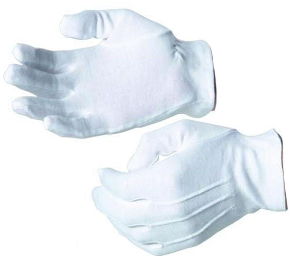 Gloves Parade Gloves Cotton Button fastening white R320