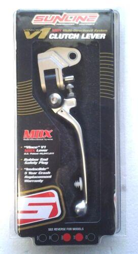 Sunline V1 MDX Folding Clutch Lever KX 125 250 250F 500 Suzuki RMZ450 RMZ250