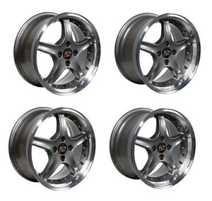 Details about Ford Mustang Wheel Set, 17