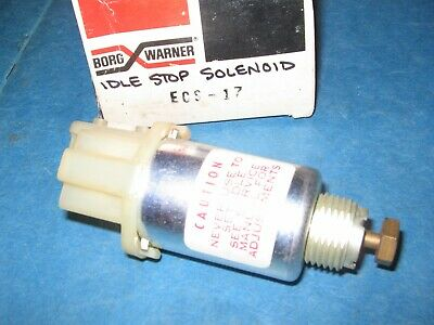 CARBURETOR IDLE STOP SOLENOID ES31 FOR BUICK CHEVY PONTIAC GM TRUCK OLDS 1997464