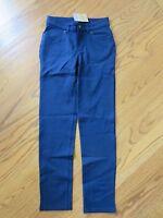 Lands End Girls 5 Pocket Navy Pants Size 12
