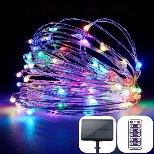 Solar Garden Lights Outdoor LED Garland Fairy String Christmas Decoration Lamps