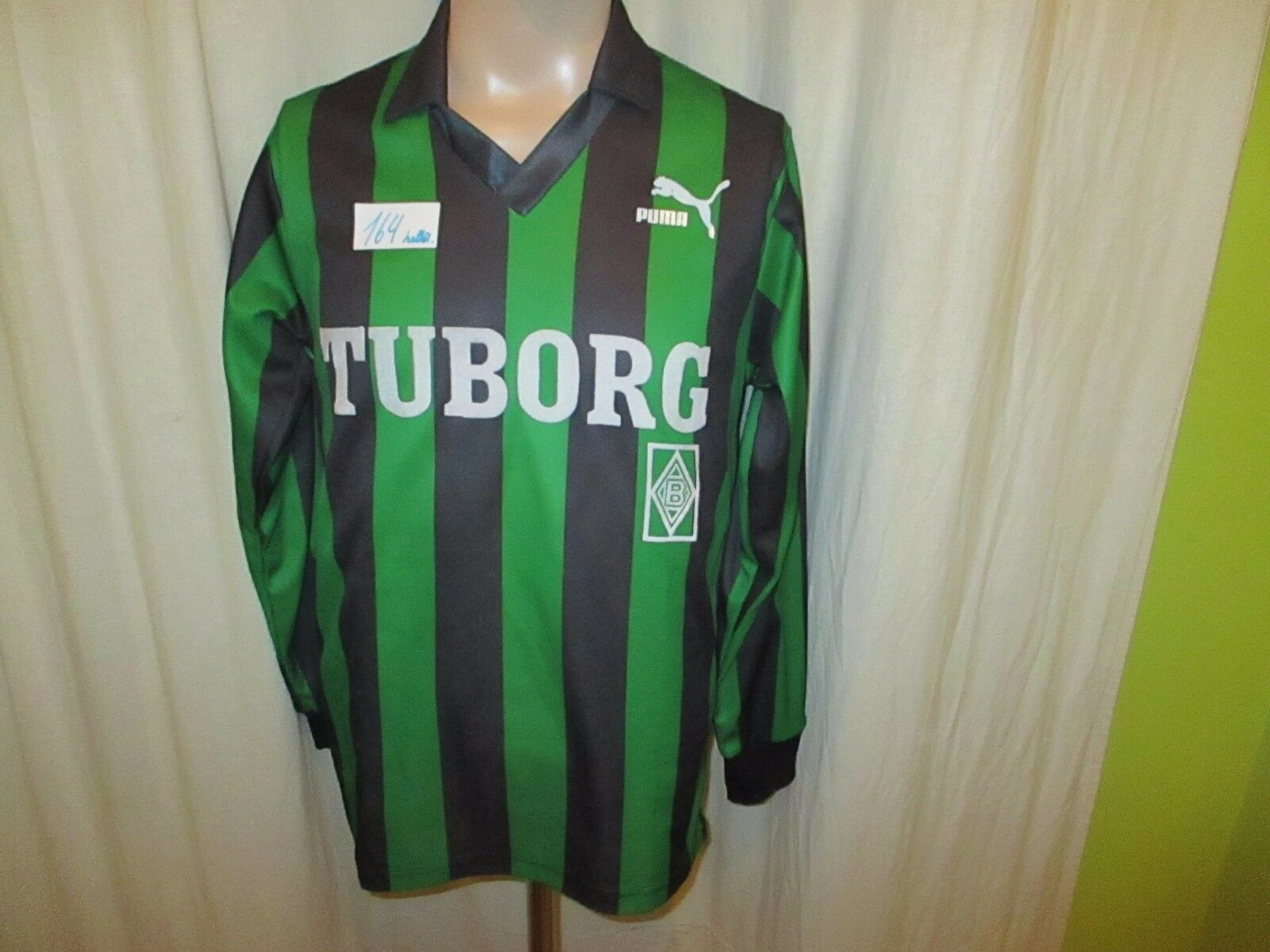 Borussia Mönchengladbach Original Puma Langarm Trikot 1991 92  TUBORG  Gr.S TOP  | Toy Story